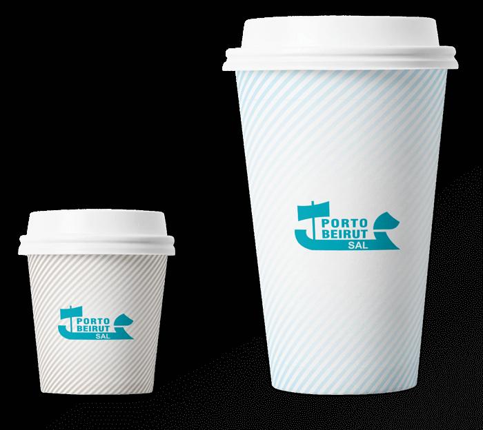 Custom Printed Paper cup | Porto Beirut | Lebanon